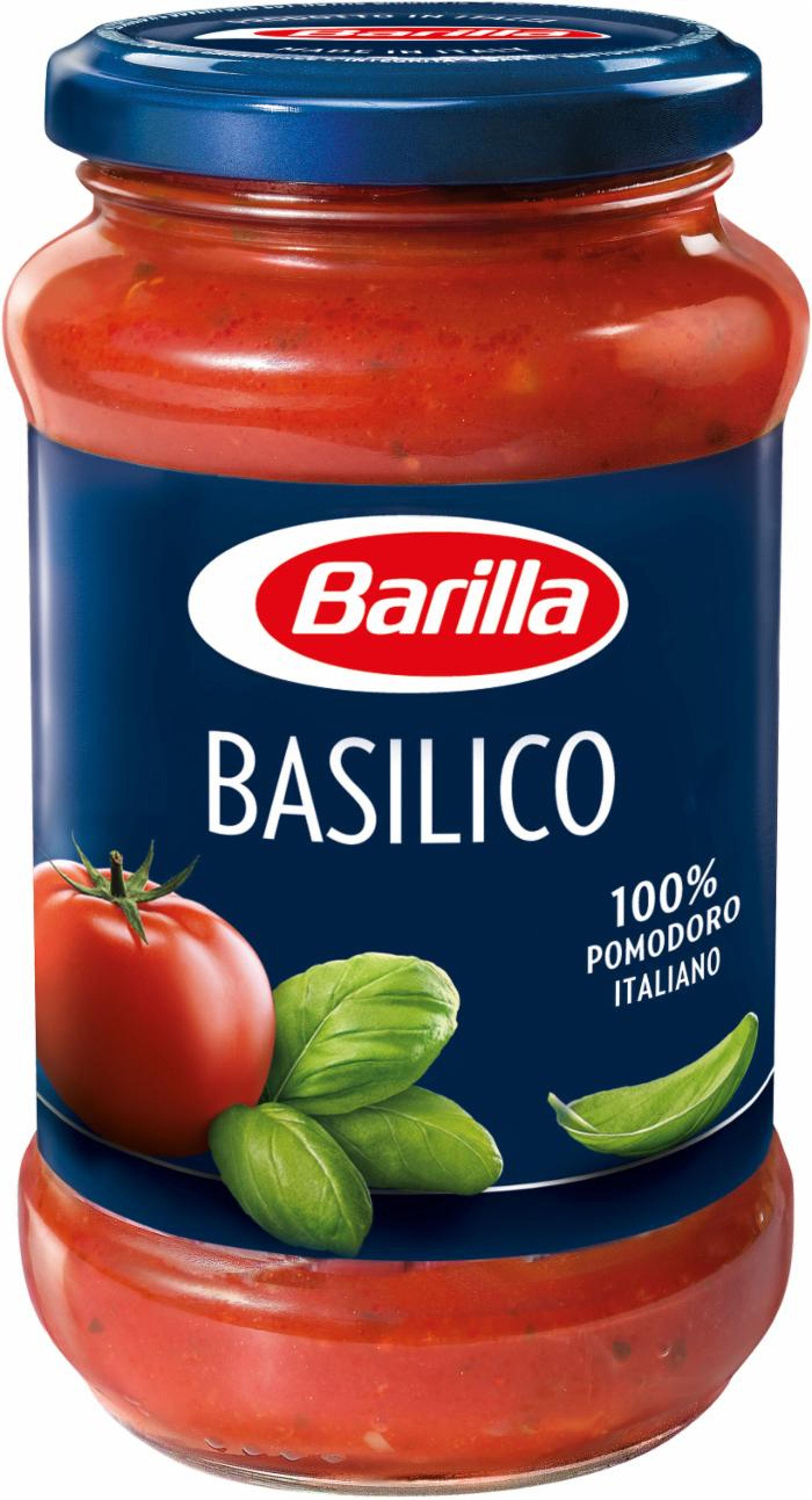 Barilla sauce tomates basilic - Prodotto - fr
