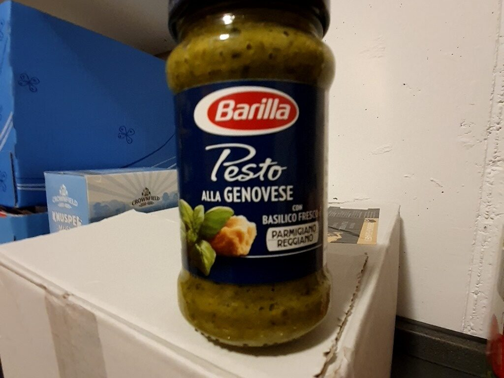 Pesto sauce with basil - Prodotto - en