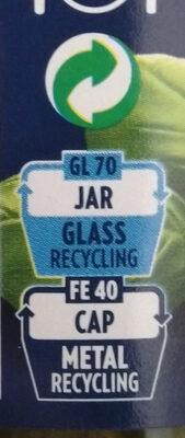 Pesto alla Genovese - Instruction de recyclage et/ou informations d'emballage - fr
