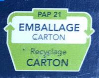 Coquillettes - Istruzioni per il riciclaggio e/o informazioni sull'imballaggio - fr