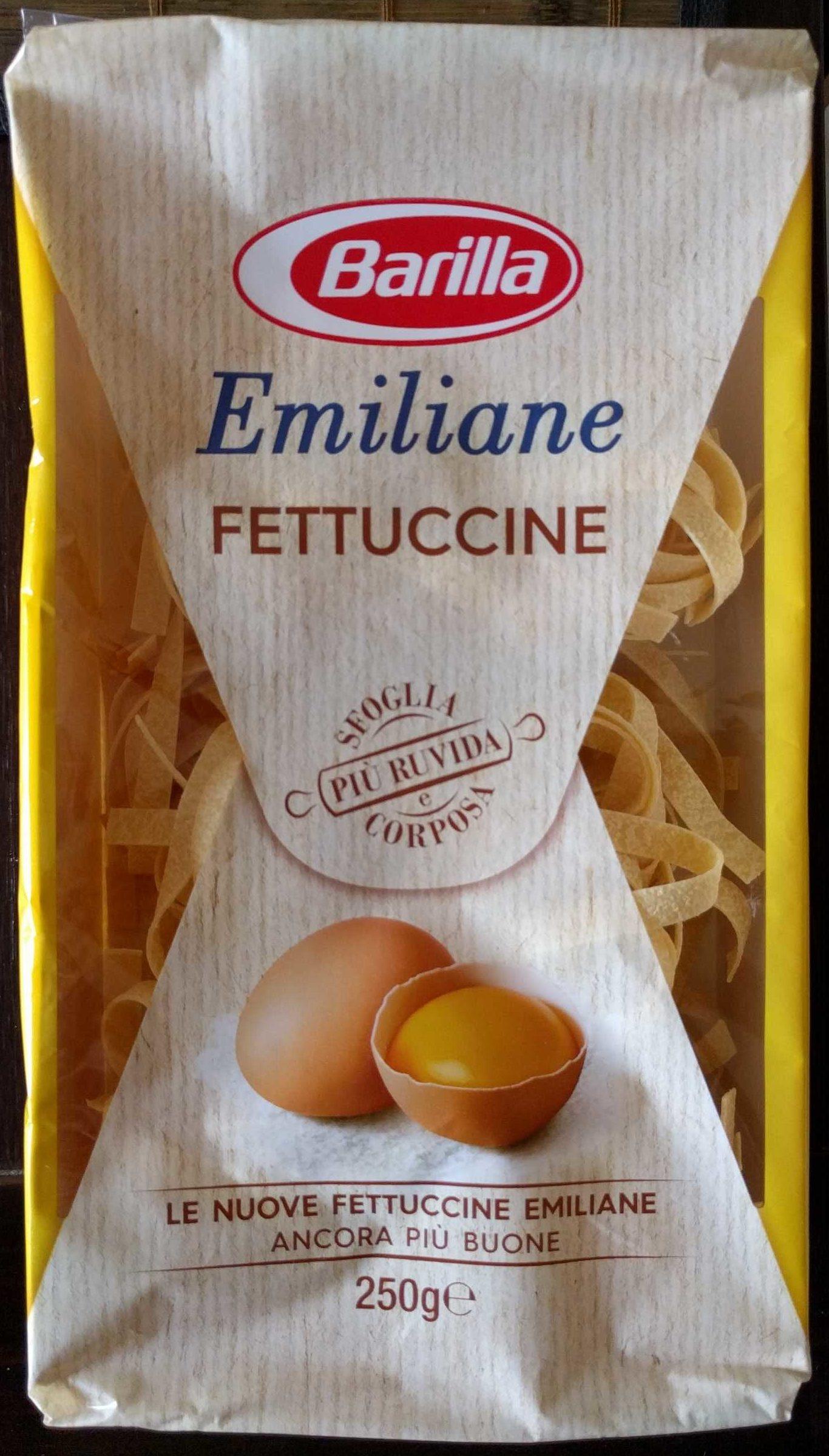 Barilla Emiliane Fettuccine All'uovo, 250G - Produit