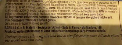 Crostatine Albicocca 400 GR - Ingrediënten - it