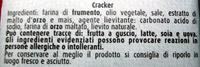 Sfoglia di Grano Cracker salati Barilla Mulino Bianco - Ingrediënten