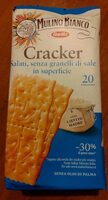 Cracker Salati, senza granelli di sale in superficie - Produto - it