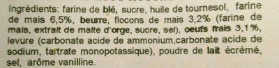 Panocchie, 350G - Ingrédients - fr