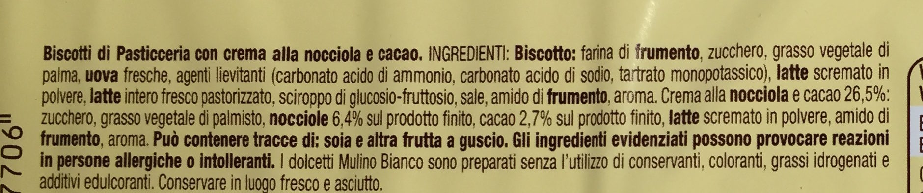 Baiocchi - Ingredienti - it