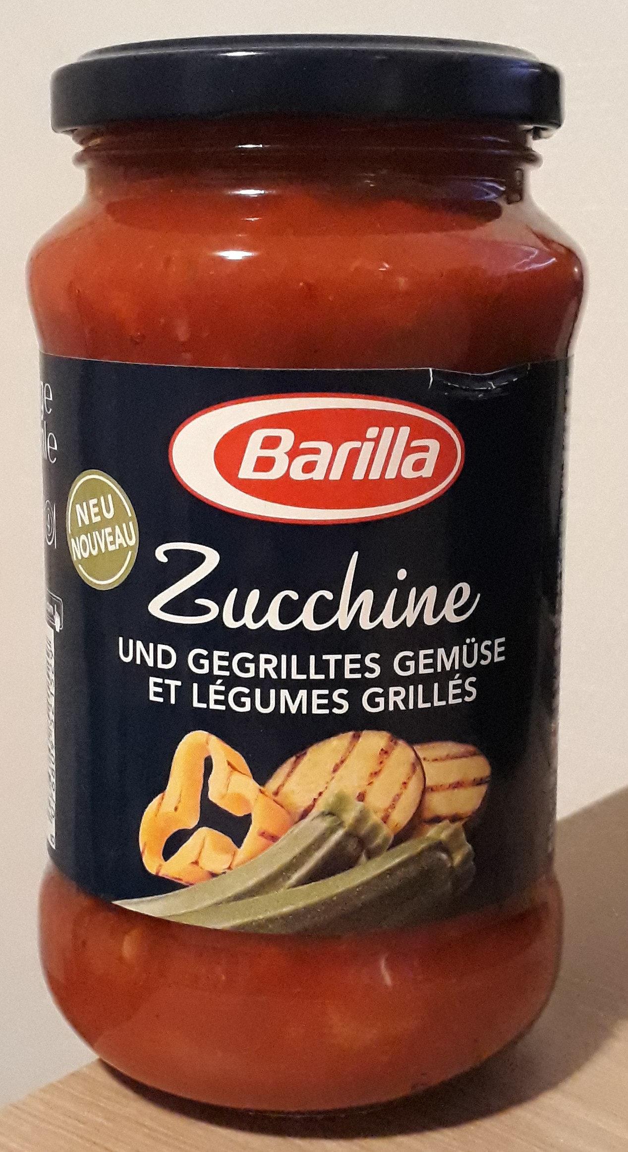 Sauce courgette et légumes grillés - Produkt - de