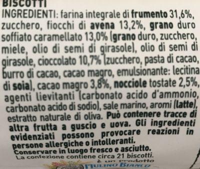 Gran Cereale Cioccolato - Ingredients - it