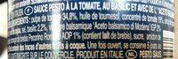 Rotes Pesto - Ingrédients - fr