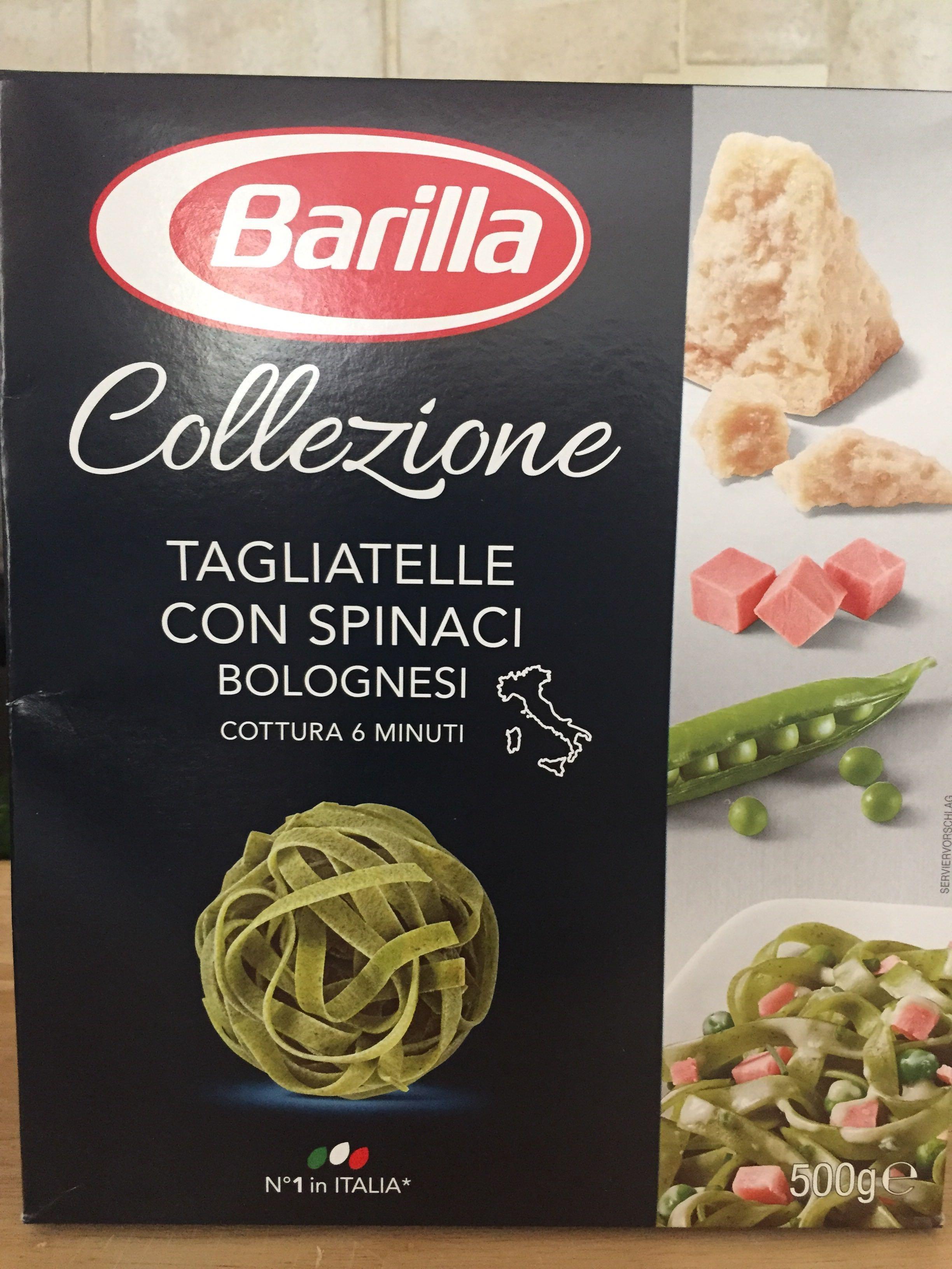 Tagliatelle Con Spinaci Barilla 500 G