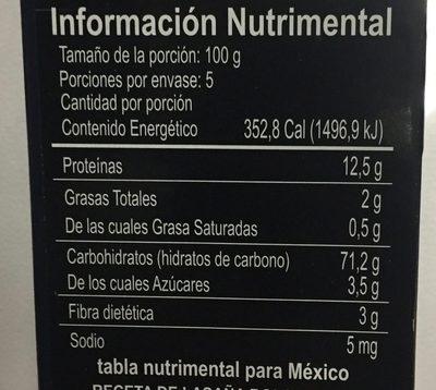 Collezione Lasagne Bolognesi - Información nutricional - es