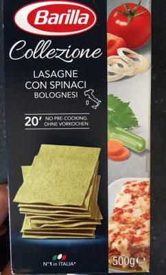 Collezione Lasagne Con Spinaci Bolognesi - Produkt