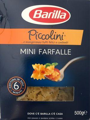 Piccolini Mini Farfalle - Prodotto