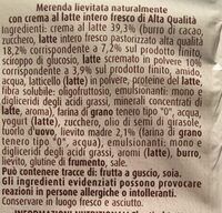 Flauti al Latte - Ingredienti - it