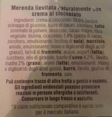 Flauti Cioccolato - Ingredienti - it