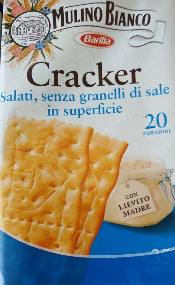 Cracker - Información nutricional