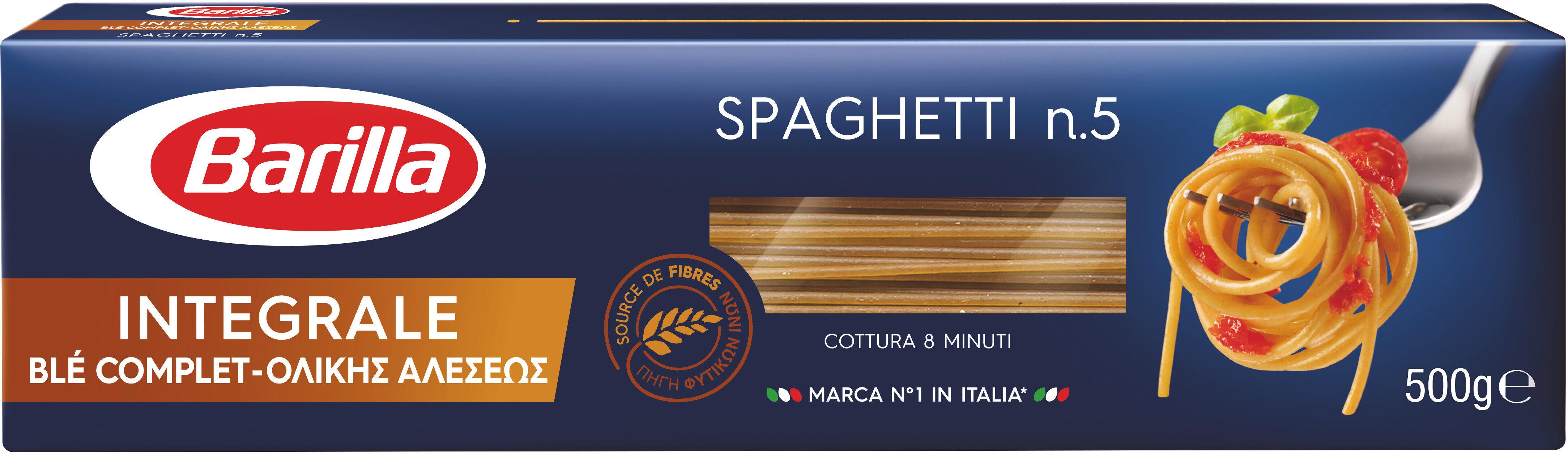 Pâtes Spaghetti au blé complet - Product
