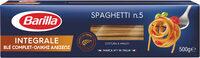 Pâtes Spaghetti au blé complet - Produit - fr