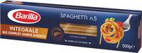 Barilla pates integrale spaghetti au ble complet - Product - fr