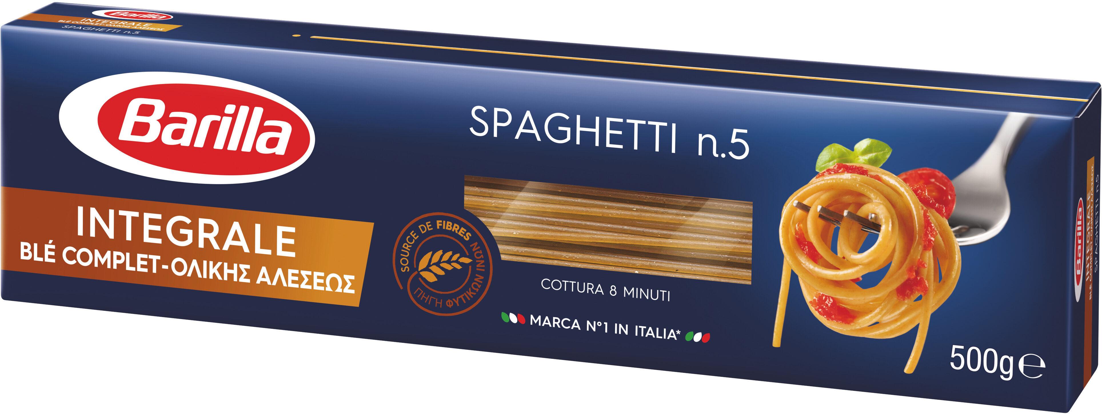 Barilla pates integrale spaghetti n°5 au ble complet - Product - fr