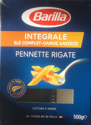 Pâtes Penne Rigate au blé complet - Product - nl