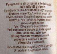 Pangrattato - Ingrediënten - it
