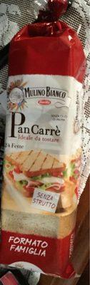 Pane da toast san Carlo - Produit - fr