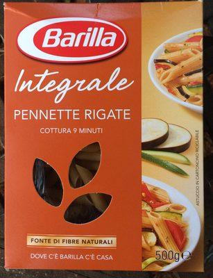 Pennette Rigate Integrale - Prodotto