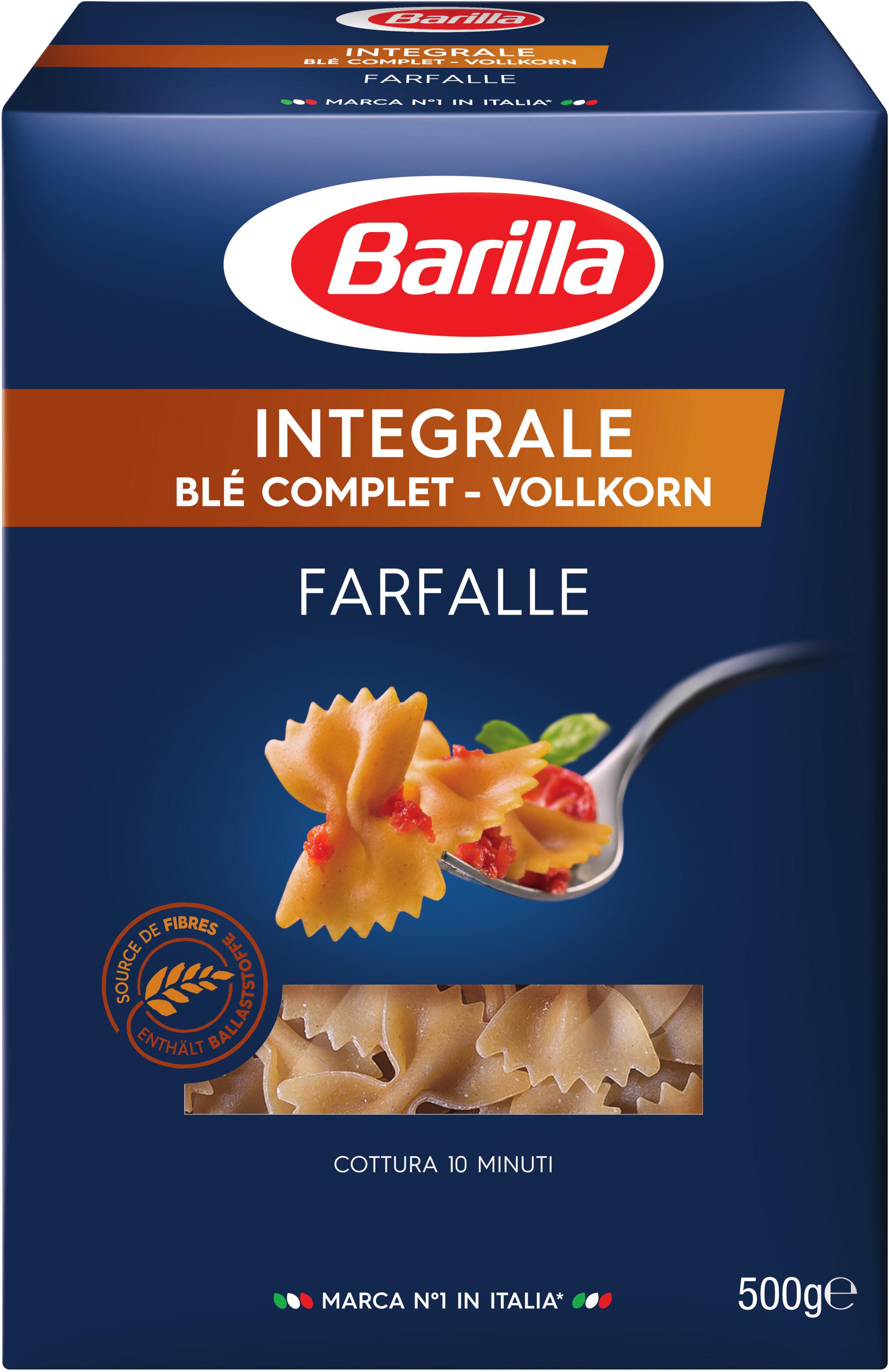 Pâtes Farfalle au blé complet - Produit - fr