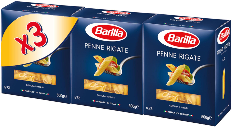 Pates barilla penne rigate lot de 500g x3 - Prodotto - fr