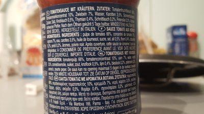 Sauce napolitaine - Ingredienti - fr