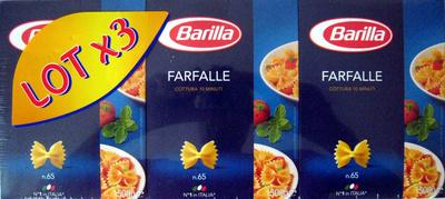 Farfalle n. 65 (Lot x 3) - Produit - fr