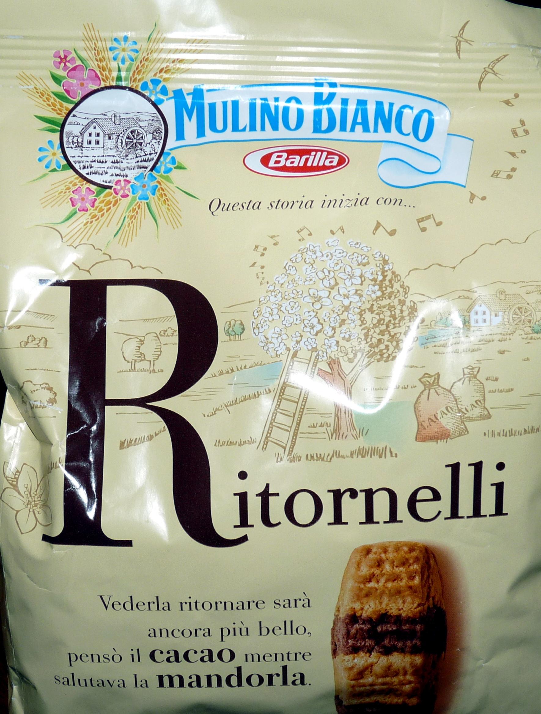 RITORNELLI Biscotti frollini con cacao e mandorle - Product - it