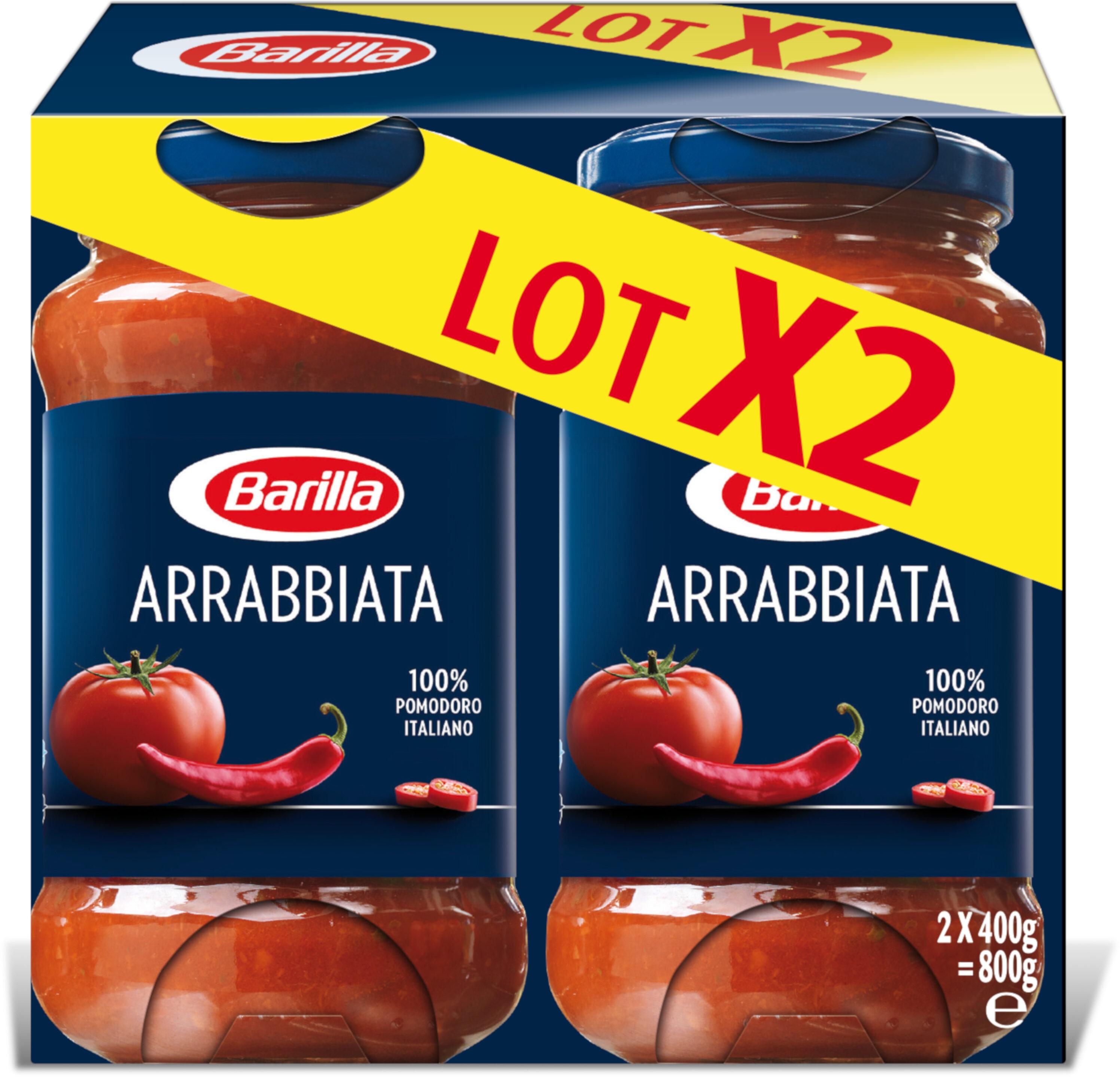 Sauce arrabbiata barilla 2x400g - Prodotto - fr