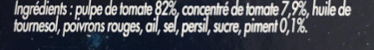 Sauce arrabbiata barilla 2x400g - Ingredienti - fr