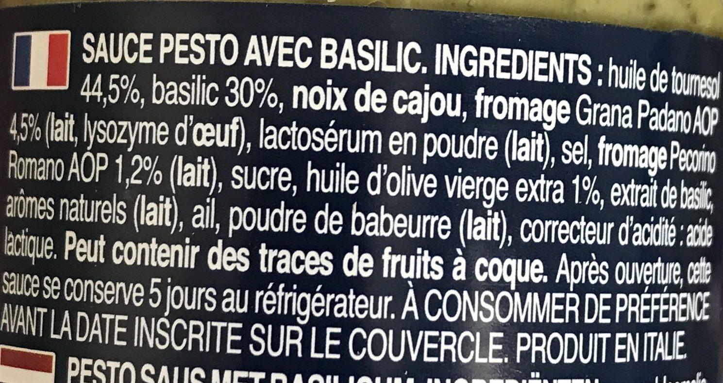 Banded pack genovese 190gx2 - Ingredienti - fr