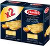 Lot pâtes aux oeufs Lasagne x2 - Produit