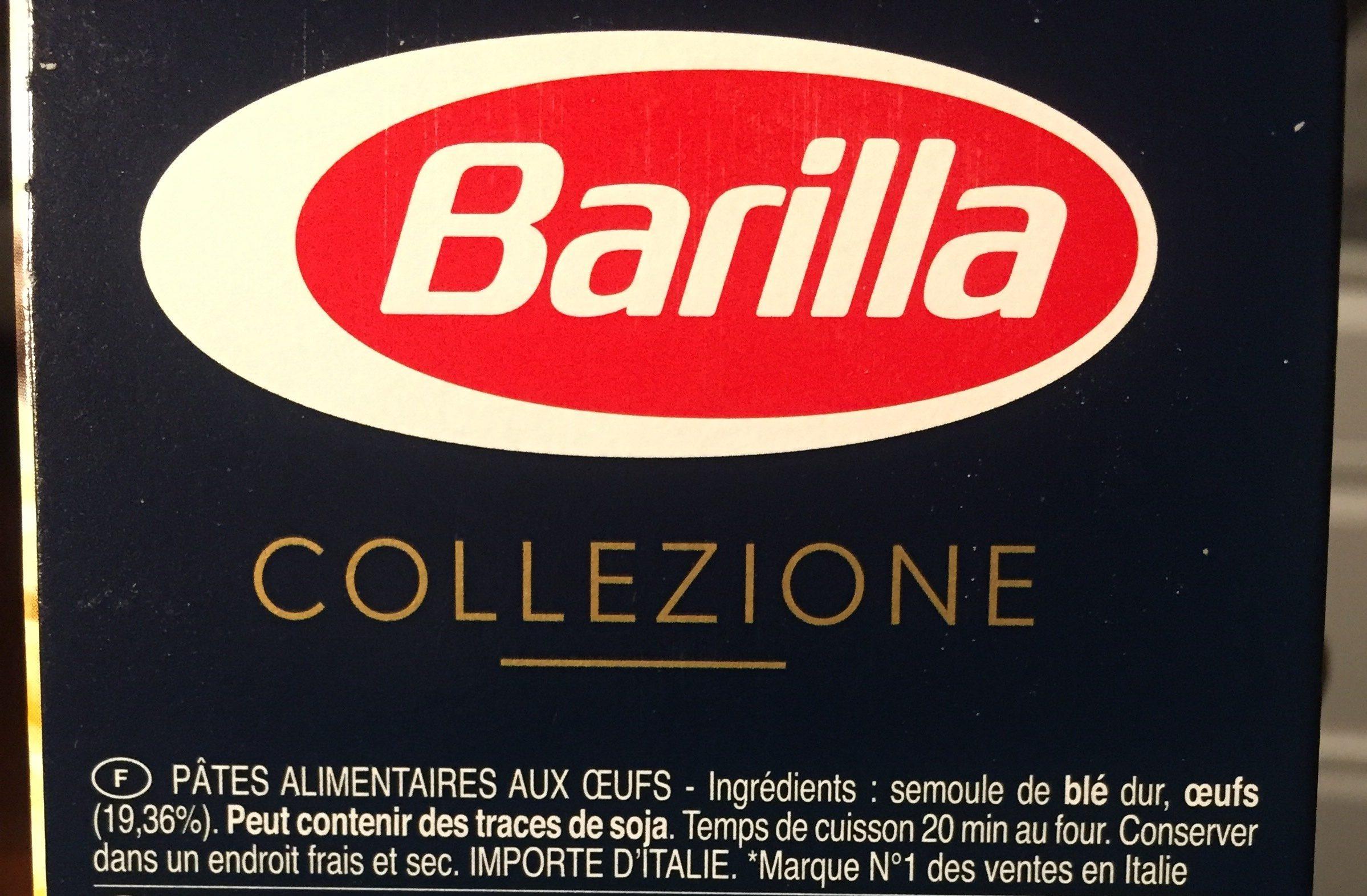 Lot pâtes aux oeufs Lasagne x2 - Ingredienti - fr
