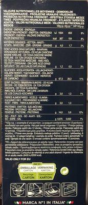 Lot pâtes aux oeufs Lasagne x2 - Valori nutrizionali - fr