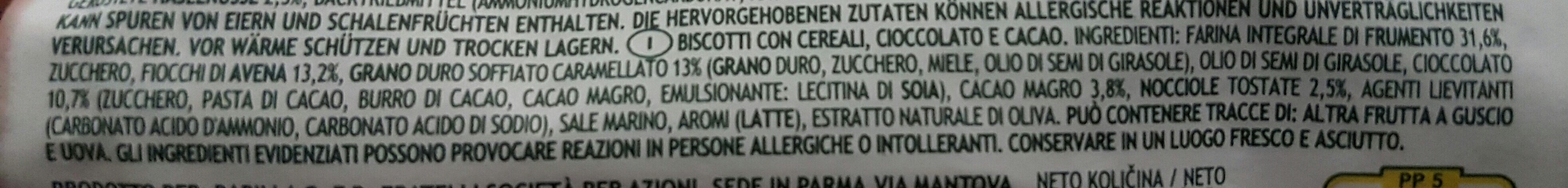 Gran Cereale - Ingrediënten - it