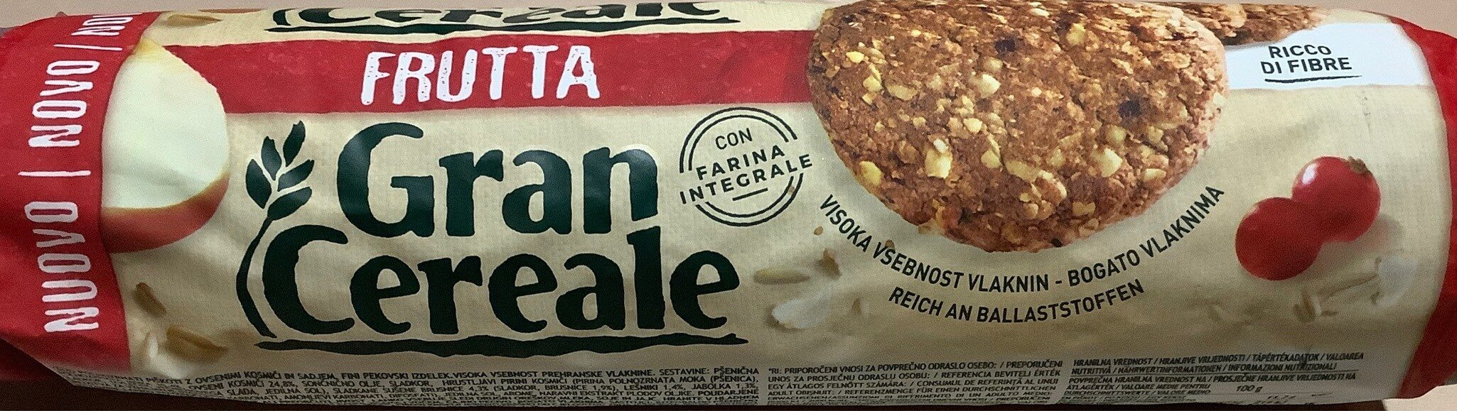 Gran Cereale Frutta - Product - fr