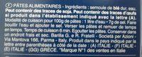 Pâtes Torsades - Ingrédients - fr