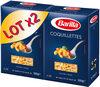 Lot pâtes Coquillettes x2 - Produit