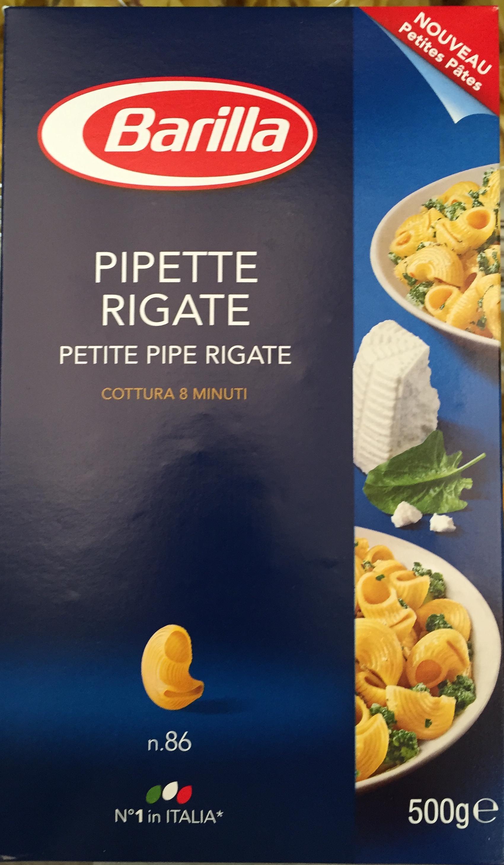 Pipette Rigate n. 86 (Petite Pipe Rigate) - Produit - fr