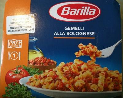 Gemelli Alla Bolognese - Produit - fr