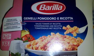 Gemelli pomodoro e ricotta (Sauce tomate et ricotta) - Product - fr