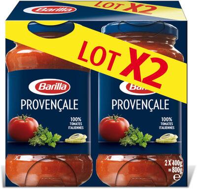 Lot 2 sauces provençale - Produit