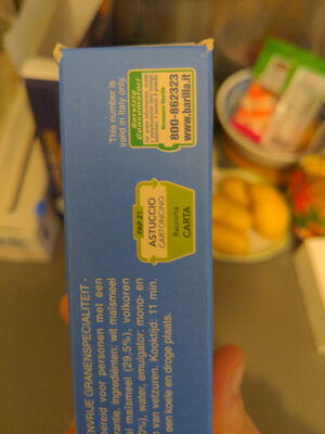 Spaghetti sans gluten - Recycling instructions and/or packaging information - fr