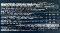 Fusilli senza glutine - Informazioni nutrizionali - it