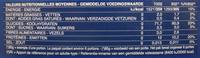 Penne Rigate n. 73 - Informations nutritionnelles